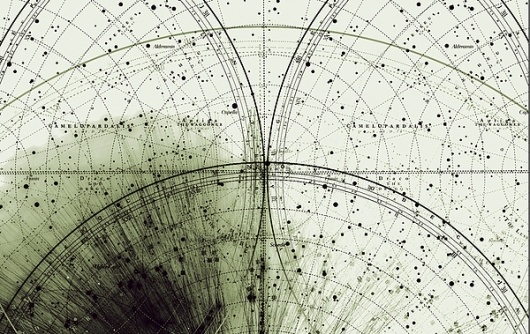 Planetary Folklore: Chaos and Structure #dots #lines