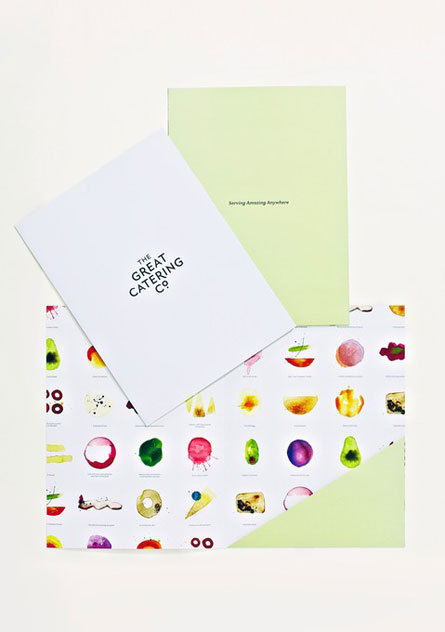 The Great Gathering Company by Strategy via www.mr-cup.com #branding #catering #co #the #colors #great #watercolor