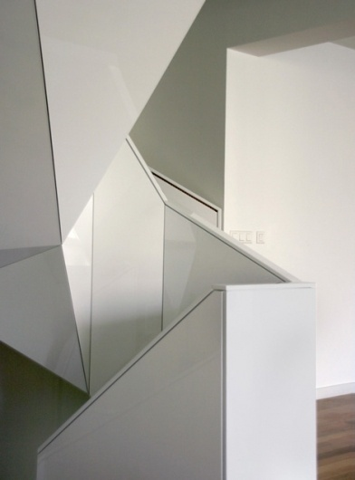 Dezeen » Blog Archive » Apartments by EDIT! #staircase #edit #architecture #glossy #archite