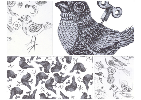 Visual Graphic #detailed #bird