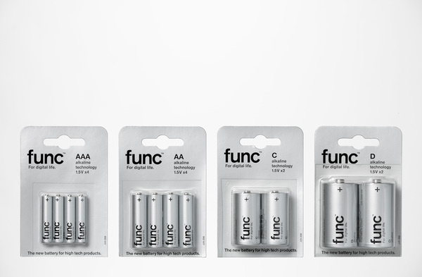 Axfood Batteries by DVD #packaging #batteries #func #typography