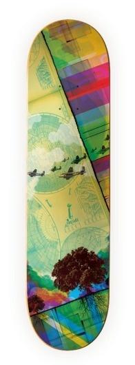 Clifford Design / Illustration / Photography - Skate Decks #skateboard #graphics #design #graphic