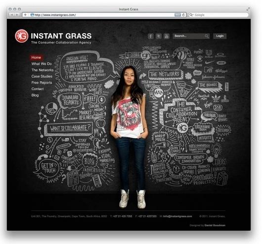 Web design inspiration | #348 « From up North | Design inspiration & news