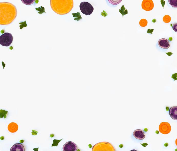 Plated Food Pattern #color #pattern #fruit #vegetables