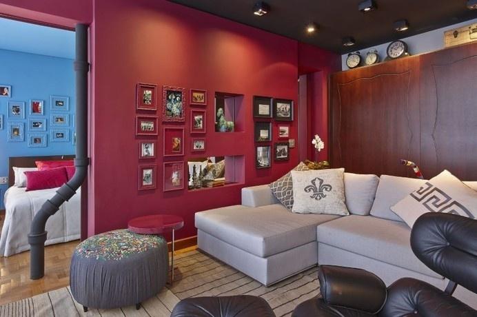 Retro style revived Santo Agostinho apartment renovated by architect Gislene Lopez - www.homeworlddesign.com (10) #retrostyle #brazil #home