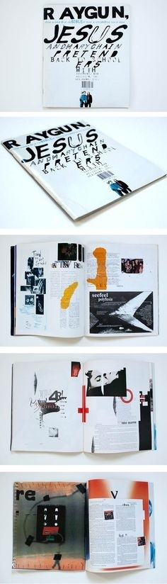 #design #graphic #typographic #magazine #layout