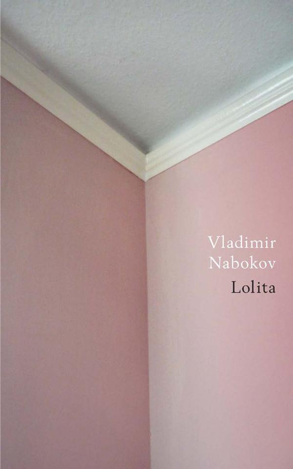 A new book-cover design of Vladimir Nabokov's Lolita by Jamie Keenan #cover #lolita #book-cover #book