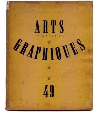 Arts & Métiers graphiques (1927-1939) – designers books #cover #vintage #magazine