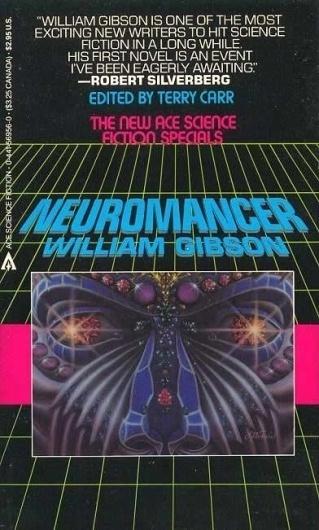 Neuromancer_(Book).jpg (392×651) #punk #cyber #design #book #gibson #cover #neuromancer