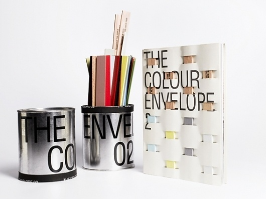 The Colour Envelope : Studio Laucke Siebein #envelope #book