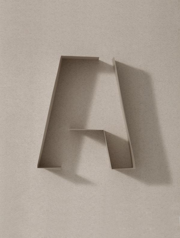 Cartiera Fabriano. Calendario 2013. on Typography Served #typography