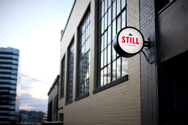 Still Liquor Sign — Javas Lehn #sign #signage