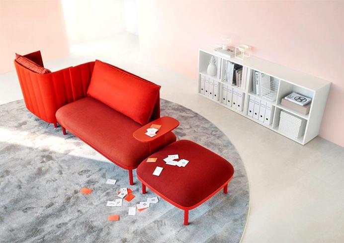 Modular Seating System Ophelis Sum #office #interior #design #furniture #modernfurniture