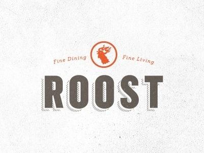 Dribbble - Roost by Jake Dugard #logo