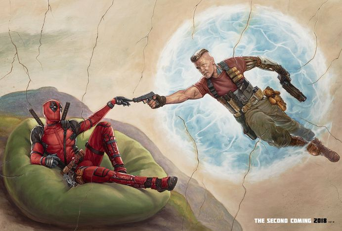 #poster #movie #cinema #film #deadpool #comic