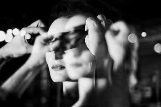 Art Sponge I Inspirational Visual Art #white #blur #akrlar #black #monochrome #portrait #mask #bar #and #elif #aras
