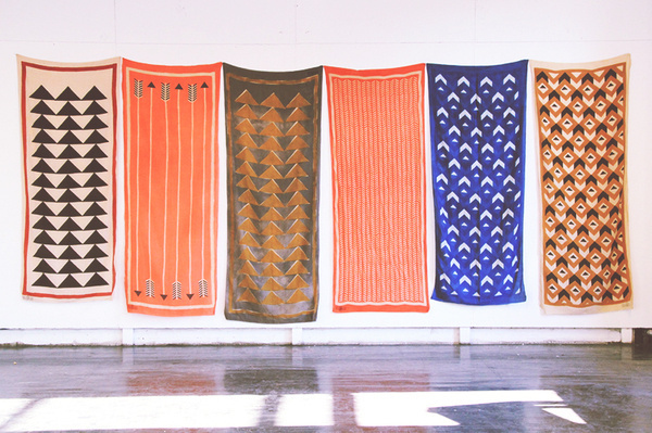 Block Shop Scarves #scarves #shop #block #printing #patterns