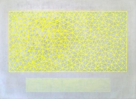 Dan Bina, Snow Storm Lightning #abstract #bina #dan #snowstorm #lightning #painting #art