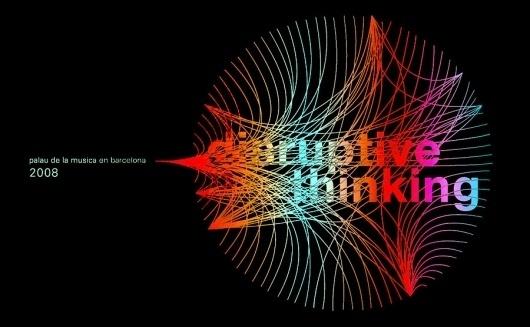 Global Dialogues: Disruptive Thinking | UeBERSEE #logo #branding