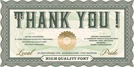 typelove_nationalcurrency_05 #typography