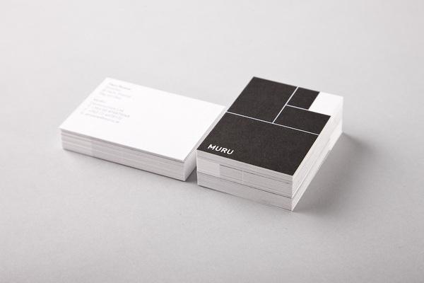 Muru #shapes #card #white #black