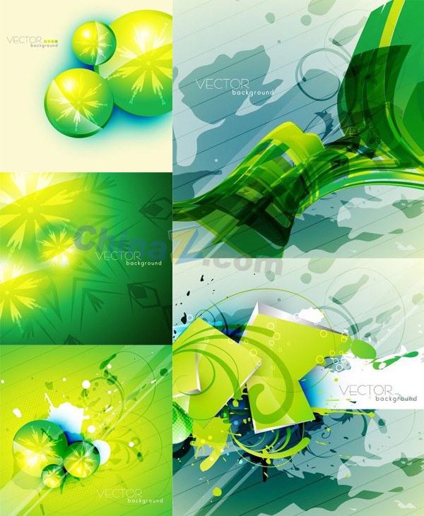 The Green abstract curved background vector map is a vector illustration and can be scaled to any size without loss of resolution. #background #curved #green