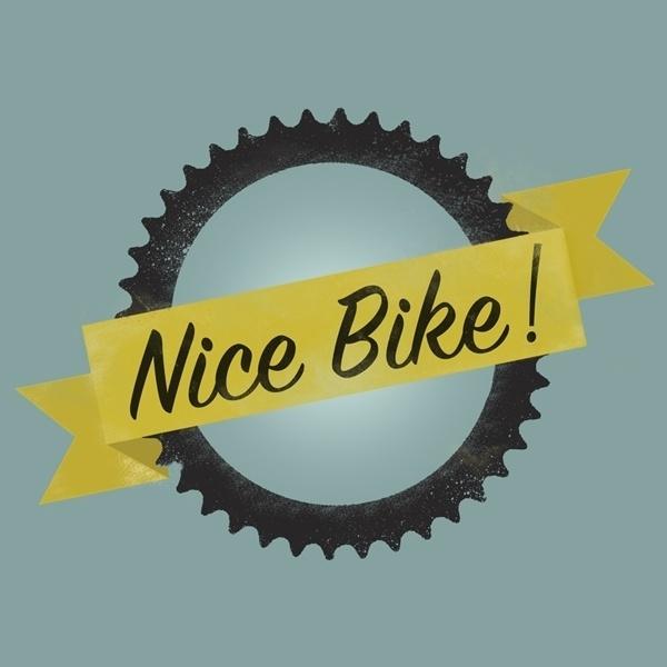 Blog « 1985 Creative #bicycle #print #logo #illustration #bike #type #typography