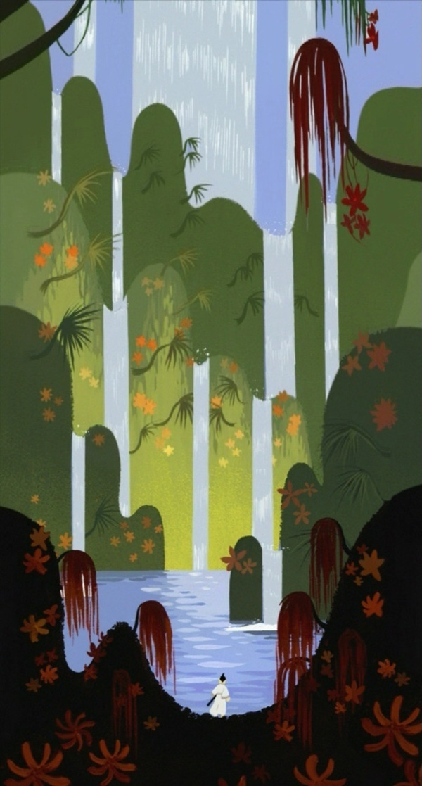 Samurai Jack background #background