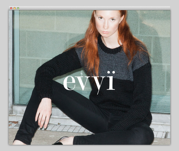 Evyi #website #layout #design #web