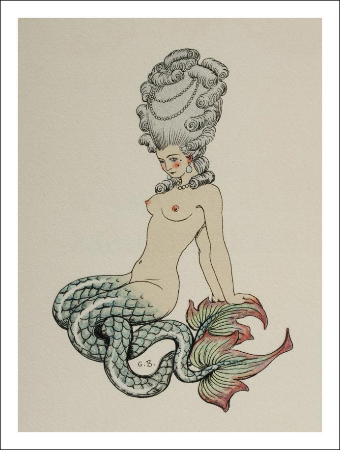 Desde el Renacimiento hasta nuestros días: George Barbier (1882- 1932) - Art Decó