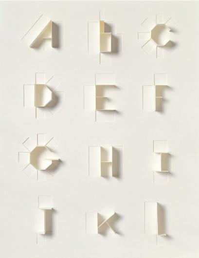 Google Reader (15) #die #cut #alphabet #paper