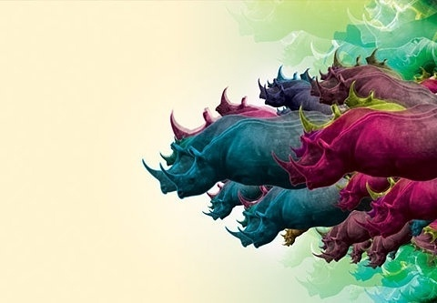 FFFFOUND! | Leif. #color #rhino
