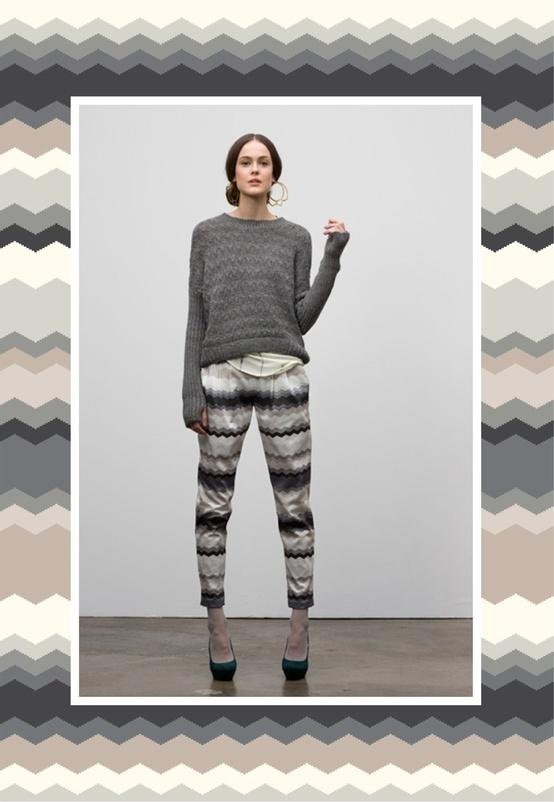zigzag print #pattern #apparel #zigzag #print #design #surface #textile