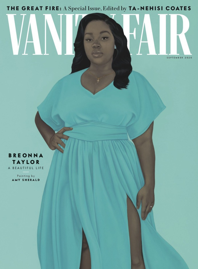 breonna taylor vanity fair painting by amy sherald