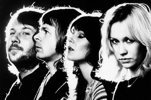 Unreleased ABBA Song Finally Hitting Stores | Billboard.com #music #photography #blackwhite