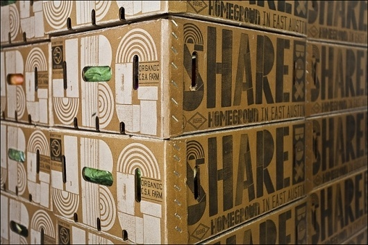 Leach Street #share #packaging #food #box #organic #typography