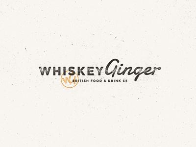 Whiskey Ginger #logo