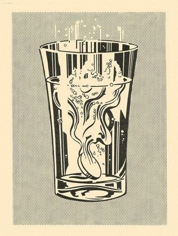 FFFFOUND! | Tumblr #halftone #pop #bold #simple #illustration #art #lichtenstein