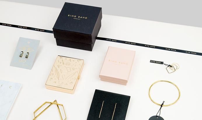 Bing Bang nyc Jewelry branding
