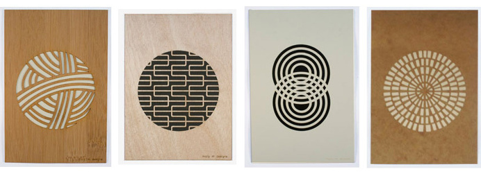 Put the X-acto Away — 20 Designers Making Laser Cut Posters Prints - Ponoko