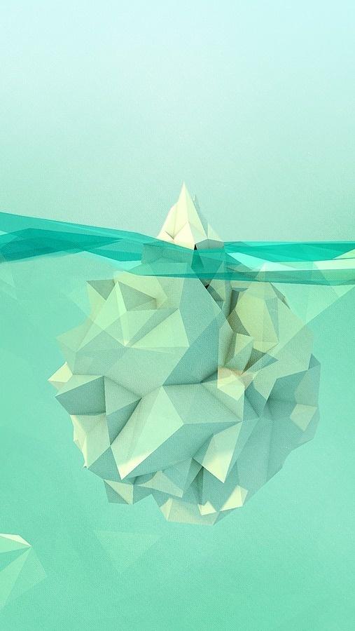 GEO A DAY #iceberg #geo #polygons
