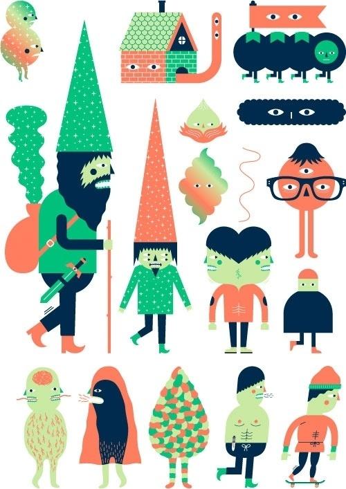 Design Work Life » cataloging inspiration daily #illustration