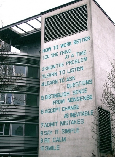 this isn't happiness™ (How to Work Better) #graphics #photography #architecture #typography
