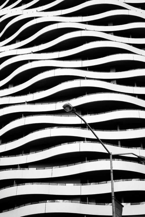 http://off-the-wall-b.tumblr.com/ #post #lamp #lines #buildings