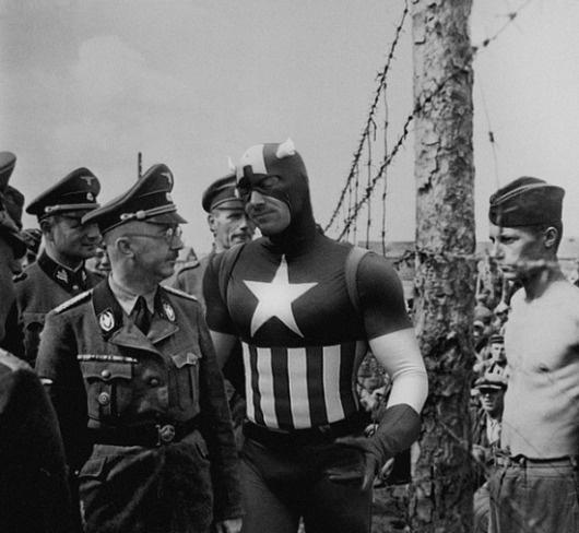 Super Hero | Fubiz™ #america #wwii #captain