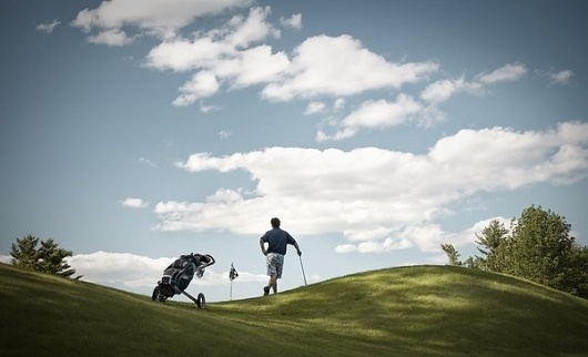 Man Versus Golf by Mark Yaggie » Creative Photography Blog #inspiration #photography #advertising