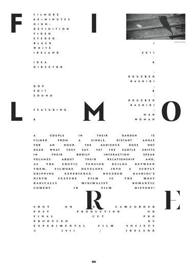 filmore poster by pouya ahmadi #design #graphic #poster #layout #typography