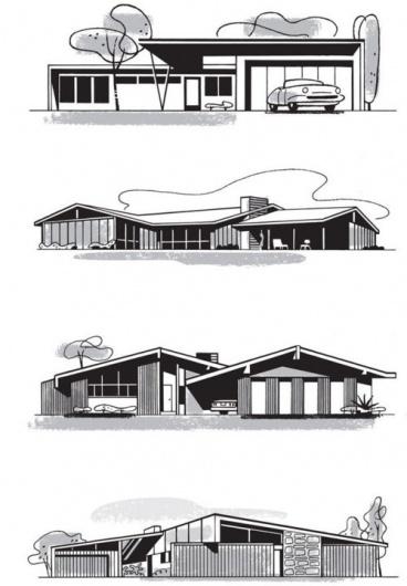 tumblr_lyonkdo7k01qz7g25o1_500.jpg 500×720 pixels #house #modern #mcm #architecture #mid #century #modernist