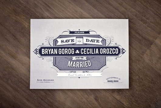 B & C | ++ ARIAN FRANZ ++ #invite #save #date #the #wedding