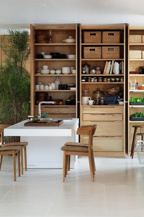 Shigeru Ban X Muji: House Of Furniture At House Vision #interior #furniture  #